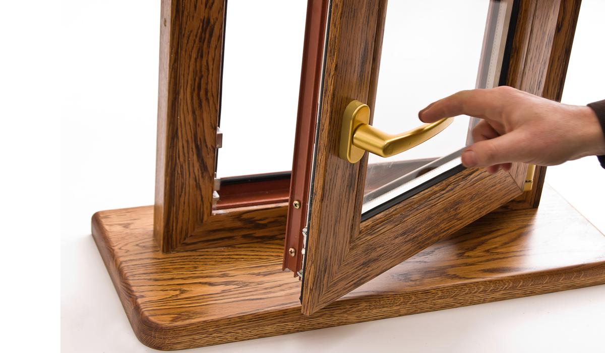 Реставрация деревянного стеклопакета